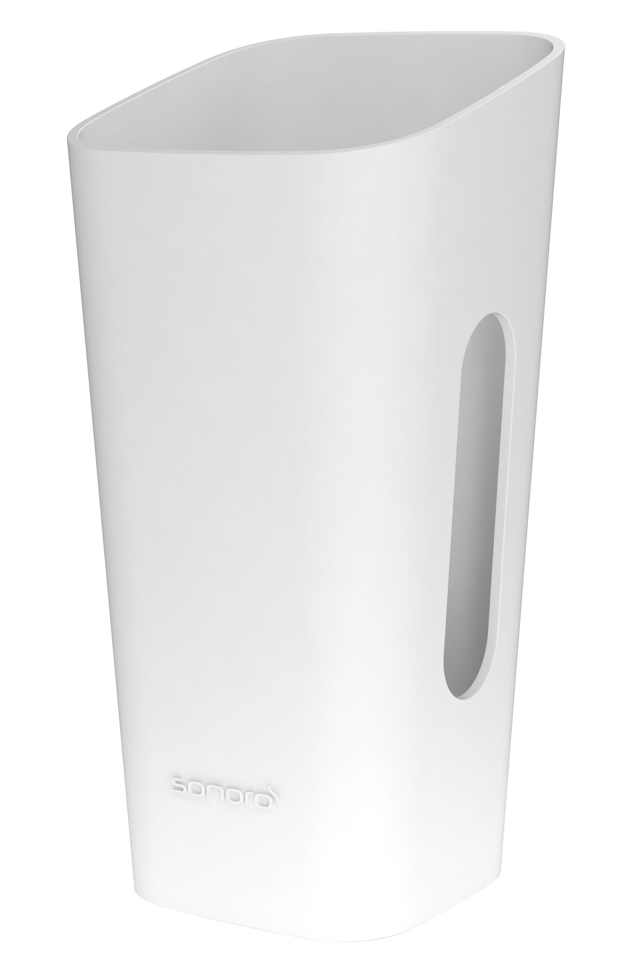 Accessories - Alarm Clocks & Travel Radios - Skin Cover by Sonoro - White / Rubber - Rubber