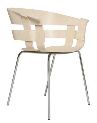 Chaise Wick / 4 pieds - Design House Stockholm bois naturel en bois