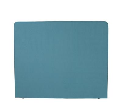 Furniture - Beds - Double jeu Headboard - / 180 x 116 cm by Maison Sarah Lavoine - Sarah blue / Black radish - Cotton, Wood