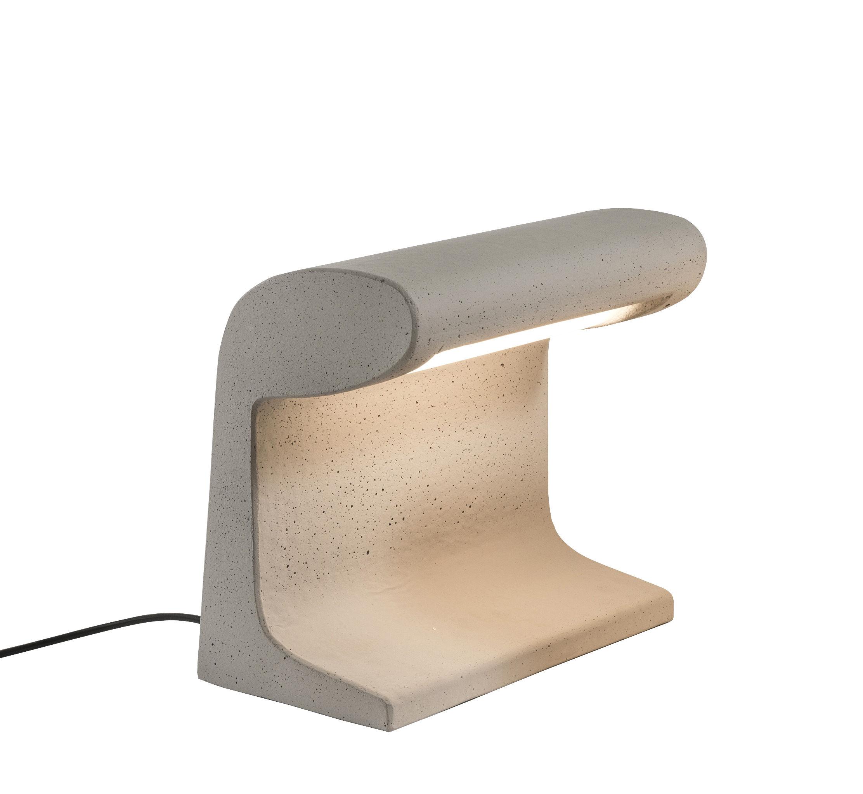 Luminaire - Luminaires d'extérieur - Lampe Béton Petite / LED OUTDOOR - Le Corbusier 1952 / H 31 cm - Nemo - H 31 cm / Béton - Béton brut