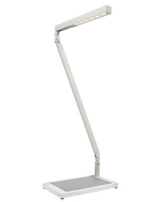 Lampe de table Bap LED - Luceplan blanc en métal
