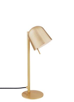 Luminaire - Lampes de table - Lampe de table HÔ! / Orientable - Spécimen Editions - Laiton - Cuivre, Laiton brossé