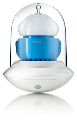 Déco - Pour les enfants - Lampe sans fil Ufo /Portable - LED - Alessilux - Bleu - Plastique