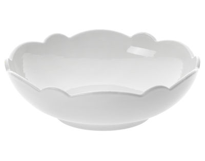 Tischkultur - Salatschüsseln und Schalen - Dressed Schale Ø 13 cm - Alessi - Schälchen Ø 13 cm - weiß - Porzellan