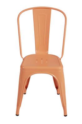 A sedia impilabile acciaio colore opaco rosa for Fenicottero arredamento