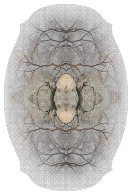 Dekoration - Teppiche - Diamond Tree Teppich / 400 x 267 cm - Moooi Carpets - Grau - Polyamid