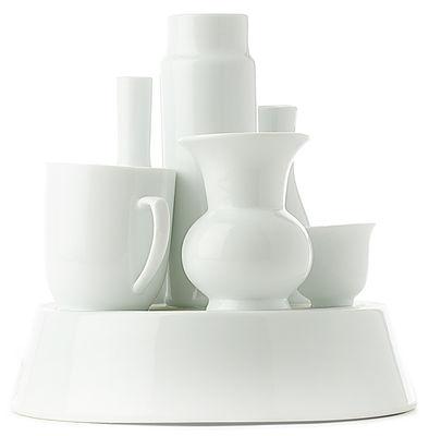 Déco - Vases - Vase Hong Kong - Pols Potten - Blanc - Porcelaine vernie