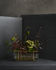 Ikebana Long Vase / Messing & Glas - H 10 cm - Fritz Hansen