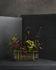 Vaso Ikebana Long - / Ottone & vetro - H 10 cm di Fritz Hansen