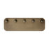 SC47 Wall coat rack - / Steel - L 54 x H 17 cm by &tradition