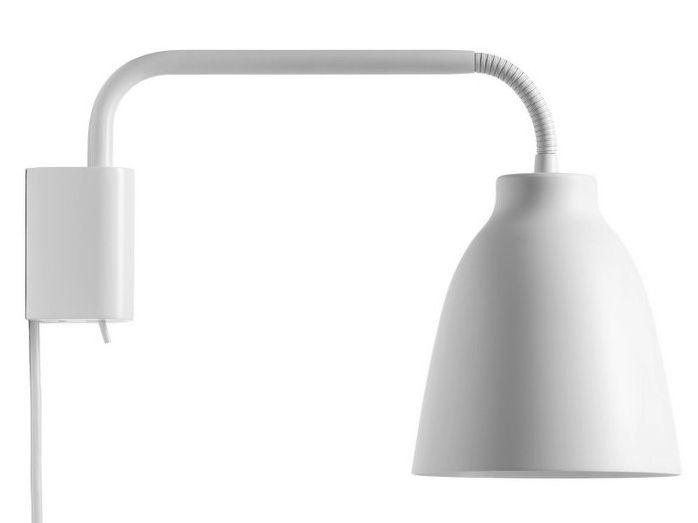 Luminaire - Appliques - Applique avec prise Caravaggio - Lightyears - Blanc - Acier, Zinc