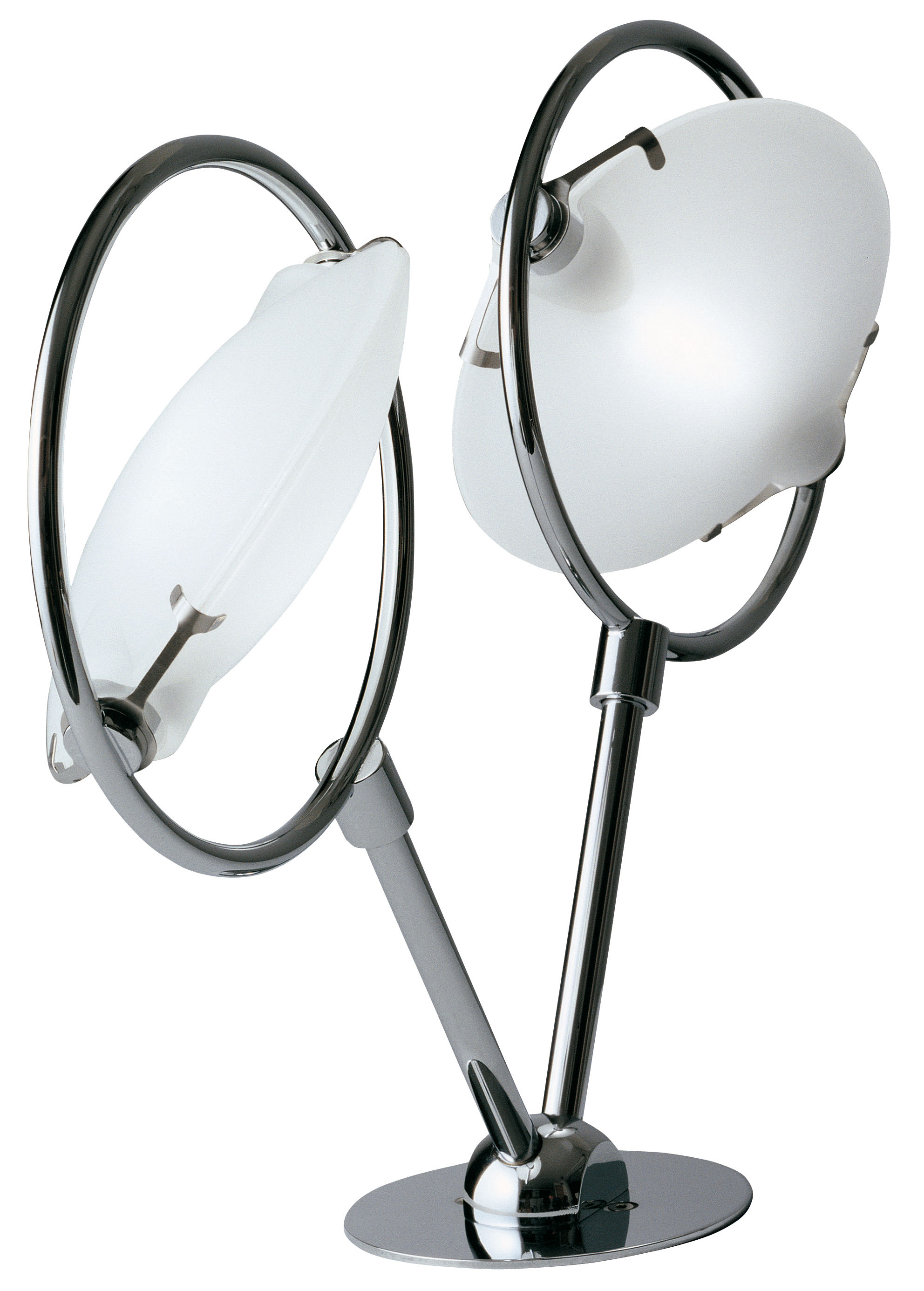 Luminaire - Appliques - Applique Nobi - Fontana Arte - Applique - Chrome - Métal chromé, Verre