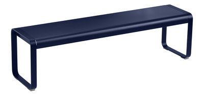 Banc Bellevie L 161 cm / 4 places - Métal - Fermob bleu abysse en métal