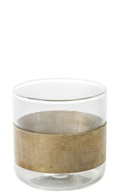 Tavola - Bicchieri  - Bicchiere Chemistry - / Rame - Ø 7 cm di Serax - Dorato / Trasparente - Rame, vetro soffiato