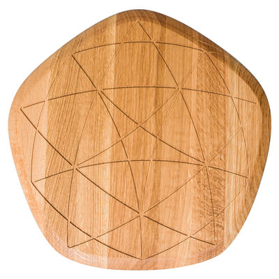 Kitchenware - Kitchen Equipment - Étoile Chopping board - Oak by Petite Friture - Oak - Oiled oak