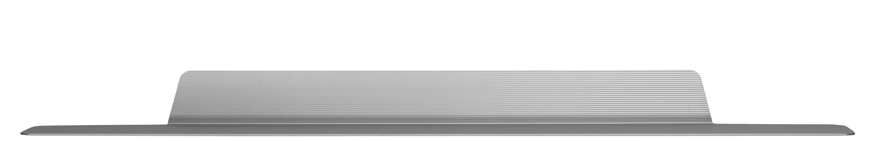 Mobilier - Etagères & bibliothèques - Etagère Jet / L 160 cm - Aluminium - Normann Copenhagen - Argent - Aluminium anodisé