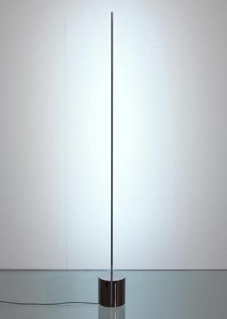 Illuminazione - Lampade da tavolo - Lampada da tavolo Light stick - H 83 cm di Catellani & Smith - Argento - Metallo