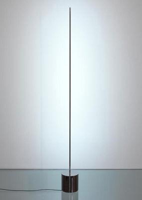 Lampe de table Light stick LED / H 83 cm - Catellani & Smith argent en métal