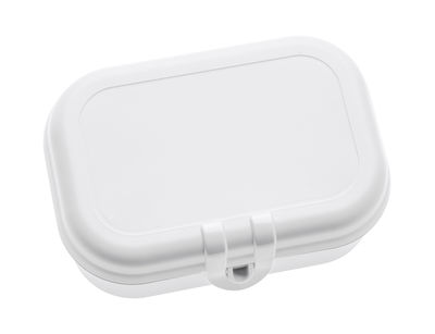 Decoration - Children's Home Accessories - Pascal Small Lunch box by Koziol - White - Plastic