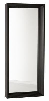 Mobilier - Miroirs - Miroir mural Frame / L 70 cm x H 180 cm - Moooi - Noir - Aluminium peint