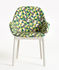 Clap La Double J Padded armchair - / Fabric & plastic feet by Kartell