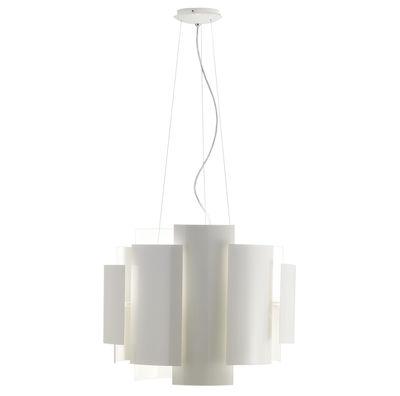 Lighting - Skyline Pendant - Ø 50 cm by Lumen Center Italia - White - Lacquered metal