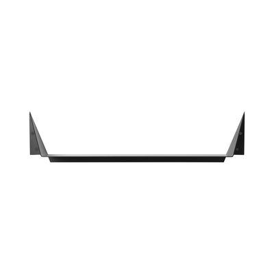 Arredamento - Scaffali e librerie - Scaffale Gami Large - / L 60 cm - Metallo di Ferm Living - L 60 cm / Nero - Acciaio laccato epossidico