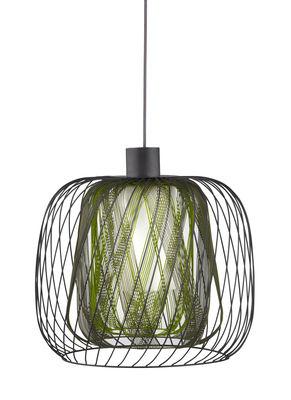 Illuminazione - Lampadari - Sospensione Bodyless L - Ø 48 cm - Forestier - Vert - Metallo, Tessuto