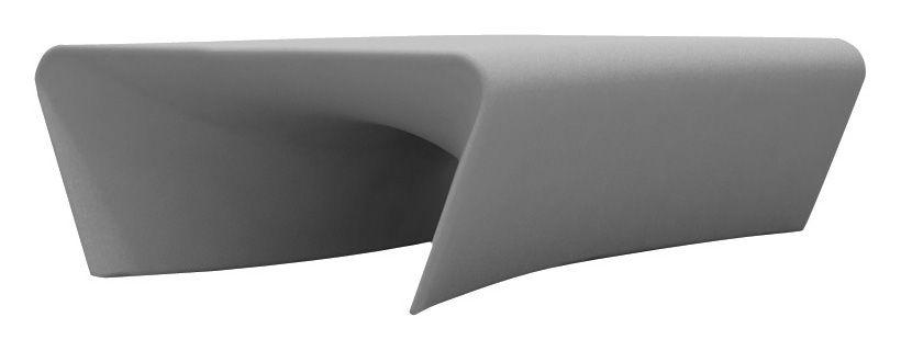 Arredamento - Tavolini  - Tavolino Piaffé di Driade - Grigio chiaro - Polietilene