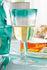 Burano White wine glass - / 250 ml - Fait main by Leonardo