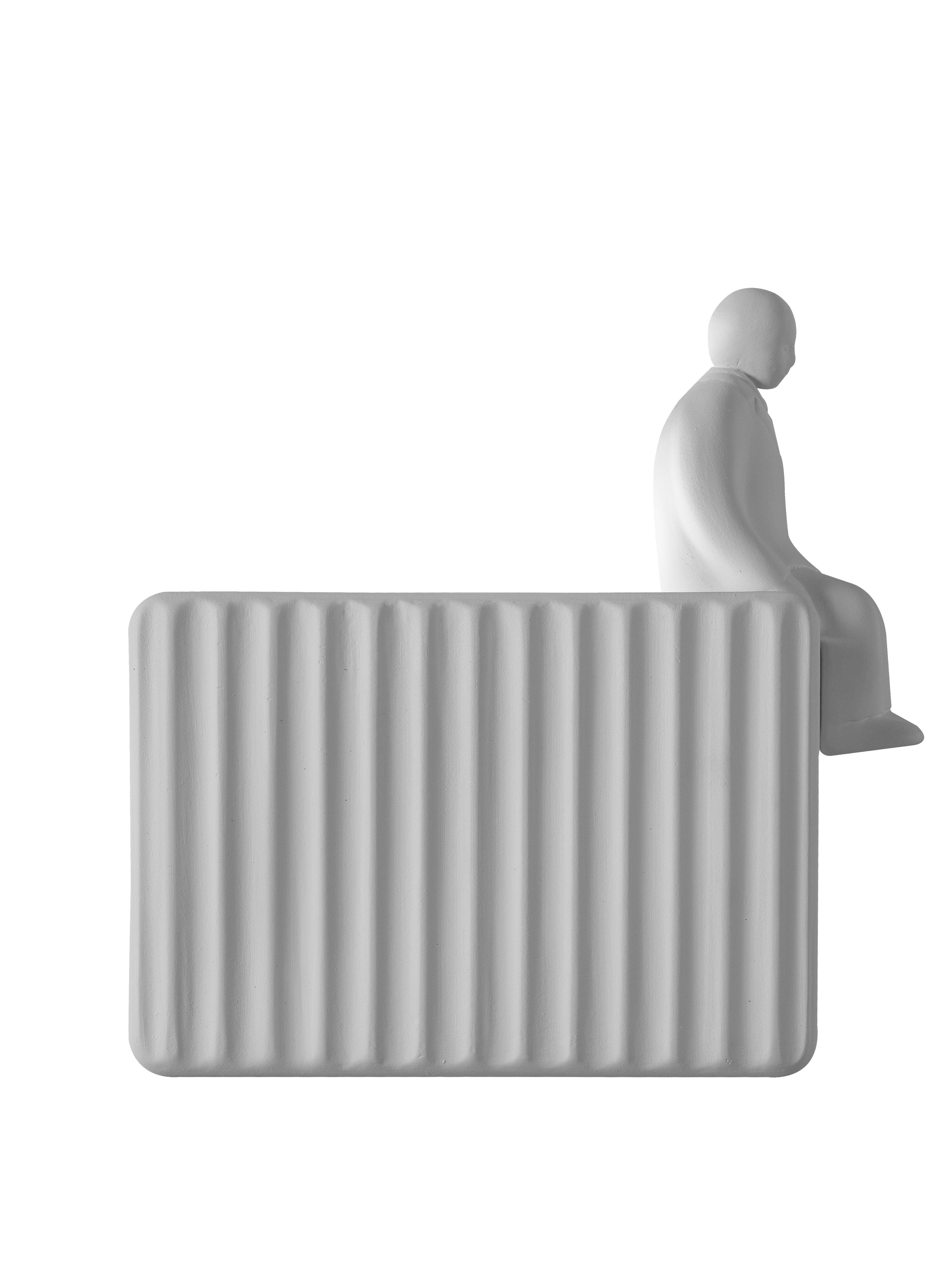 Leuchten - Wandleuchten - Accessoire / Sitzender Mann - Für Umarell-Wandleuchte - Karman - Zubehör / Sitzender Mann - Keramik