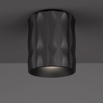 Lighting - Ceiling Lights - Fiamma Ceiling light - LED - H 16 cm by Artemide - Black - Metal
