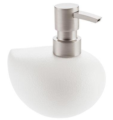 Accessori moda - Accessori bagno - Dispenser per sapone Grace di Koziol - Bianco opaco - Polipropilene, Termoplastica