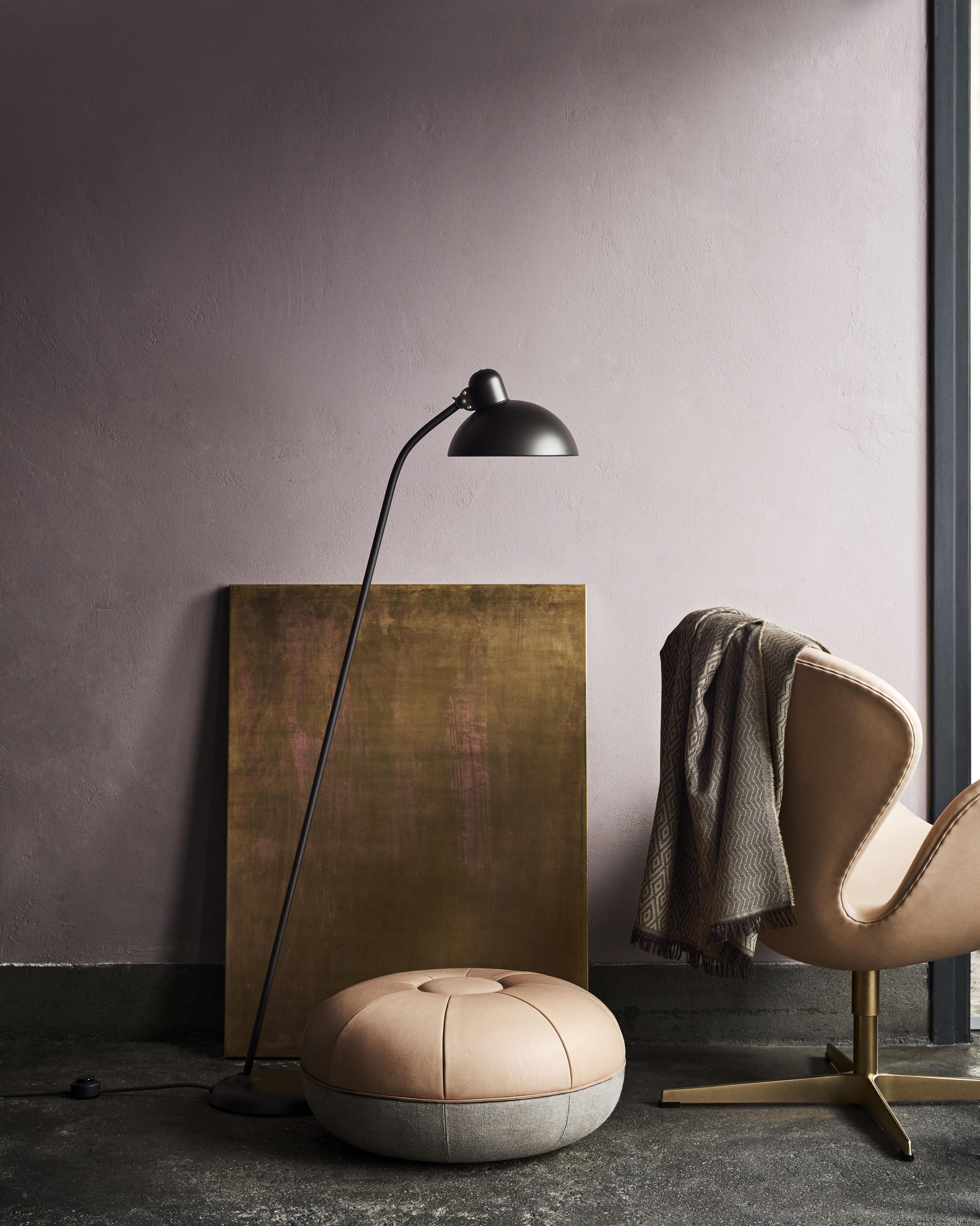 Swan Chair Drehsessel Leder Gold Limitierte Und Nummerierte