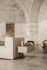 Lampe de table Arum / Métal & pierre - Orientable - Ferm Living