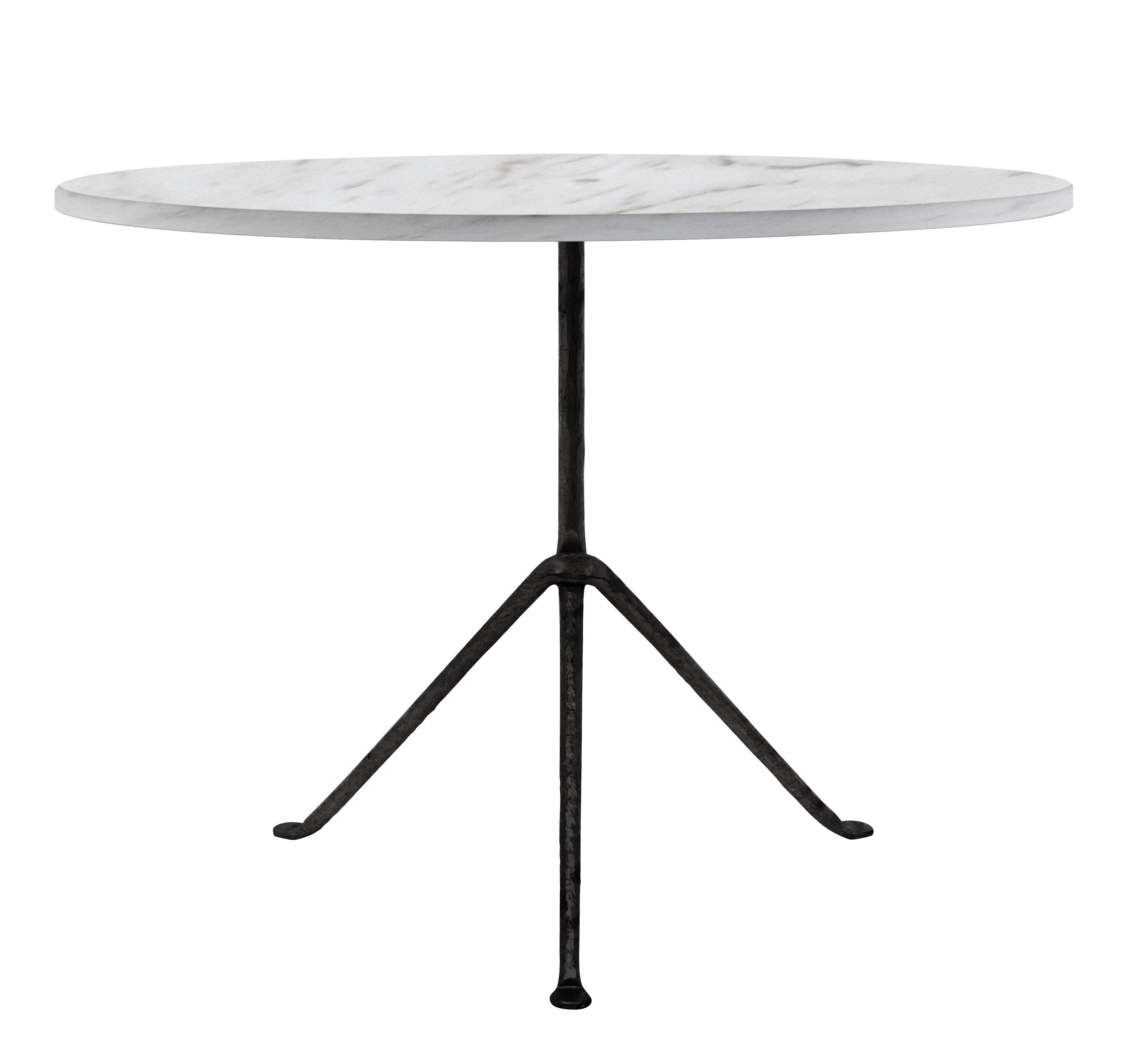 Table ronde Officina Outdoor / Ø 100 cm - Plateau Marbre - Magis