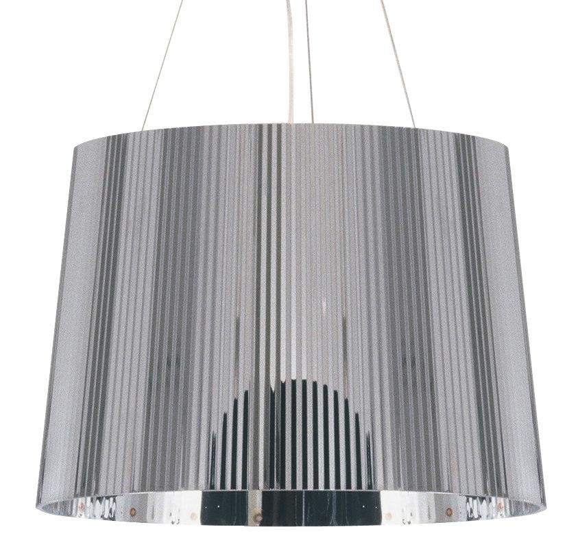 Lighting - Pendant Lighting - Gé Chrome Pendant by Kartell - Chromed - Polycarbonate