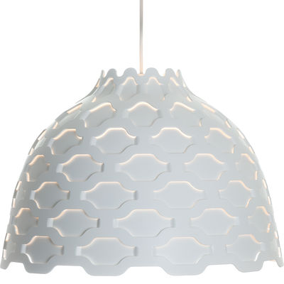 Lighting - Pendant Lighting - LC Shutters Pendant by Louis Poulsen - White - Aluminium, Polypropylene