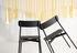 Sedia impilabile Fromme - / Alluminio di Petite Friture