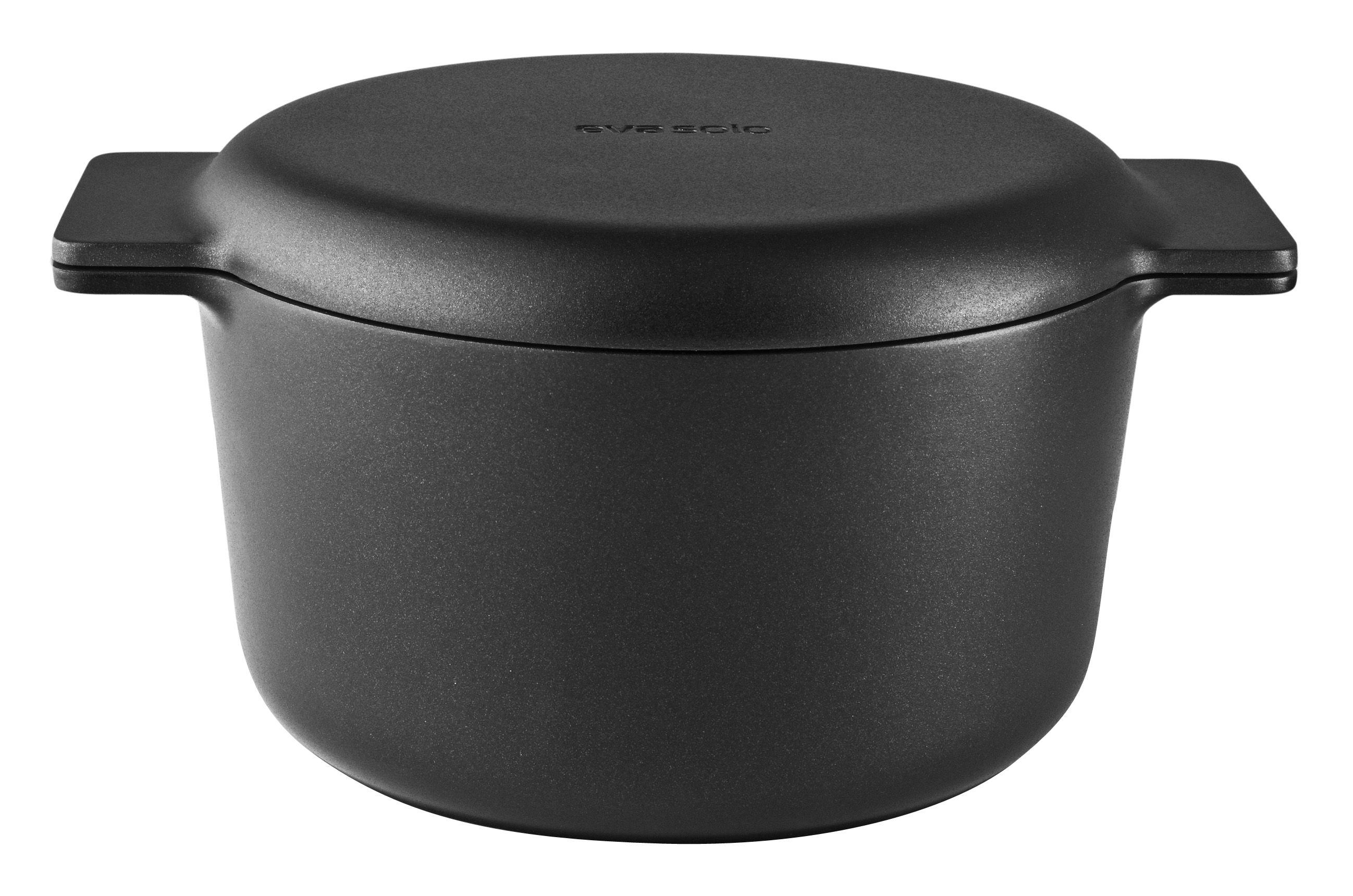 Kitchenware - Pots & Pans - Nordic Kitchen Stew pot - 3 L - Non-stick by Eva Solo - Black - Aluminium