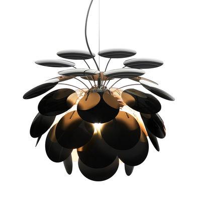 Suspension Discocó / Ø 35 cm - Marset noir,or en matière plastique