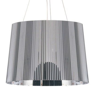 Luminaire - Suspensions - Suspension Gé Chrome - Kartell - Chrome - Polycarbonate