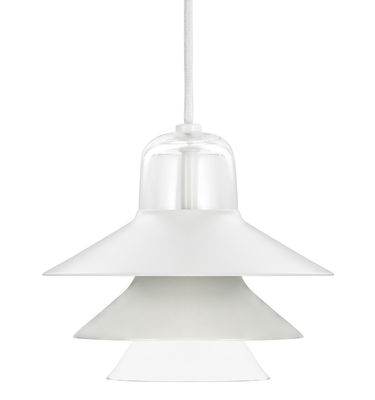 Suspension Ikono Small / Ø 20 cm - Normann Copenhagen gris en métal