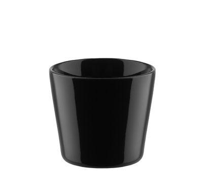 Tasse expresso Tonale / 8 cl - Alessi noir en céramique