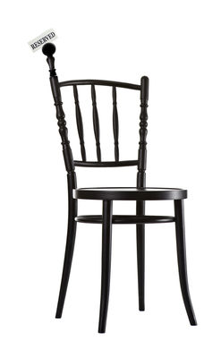 Image of Accessorio - portacarte intercambiabile per la sedia Extension Chair di Moooi - Nero - Legno