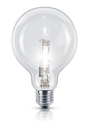Ampoule Eco-halogène E27 EcoClassic Globe / 42W(55W) - 630 lumen - Philips transparent en verre