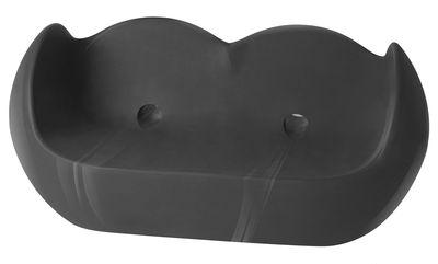 Canapé Blossy / L 159 cm - Version laquée - Slide laqué noir en matière plastique