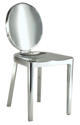 Furniture - Chairs - Kong Chair - Aluminium by Emeco - Polished aluminium - Recycled polished aluminium