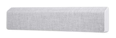 Accessori - Altoparlante & suono - Diffusore bluetooth Stockholm - / L 110 cm - Tessuto di Vifa - Grigio selce - Alluminio, Tessuto Kvadrat