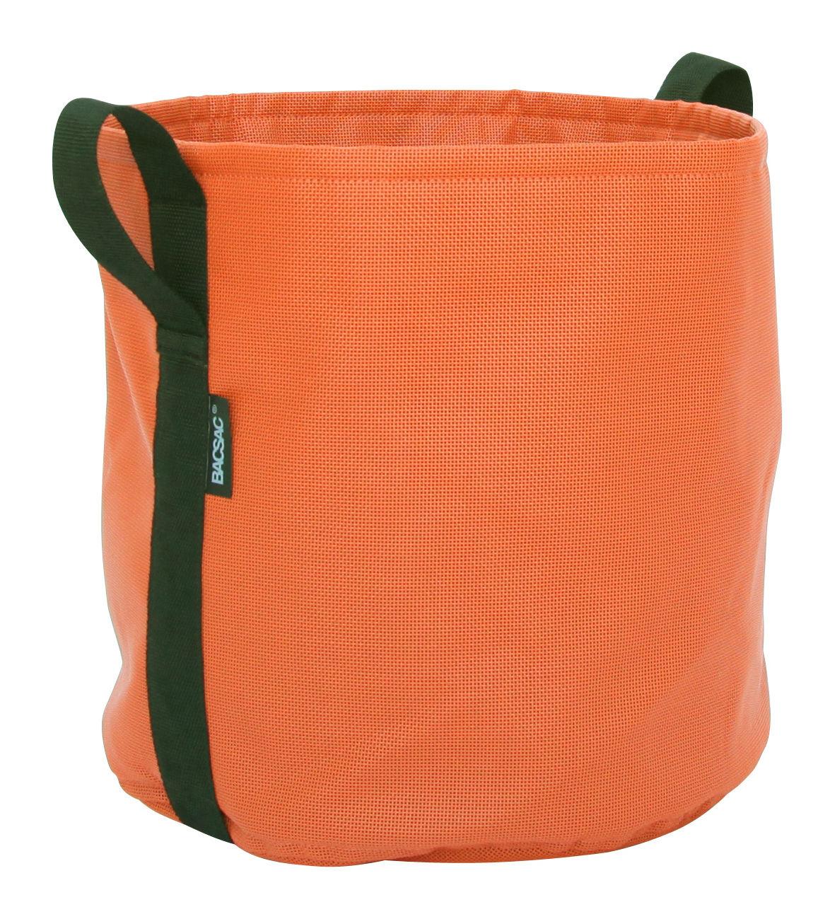 Outdoor - Pots & Plants - Batyline® Flowerpot - Outdoor - 25 L by Bacsac - Pumpkin - Batyline® fabric
